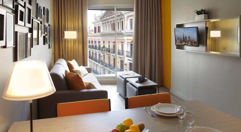 Appart 39 h tels barcelone irbarcelona for Appart hotel barcelone avec piscine