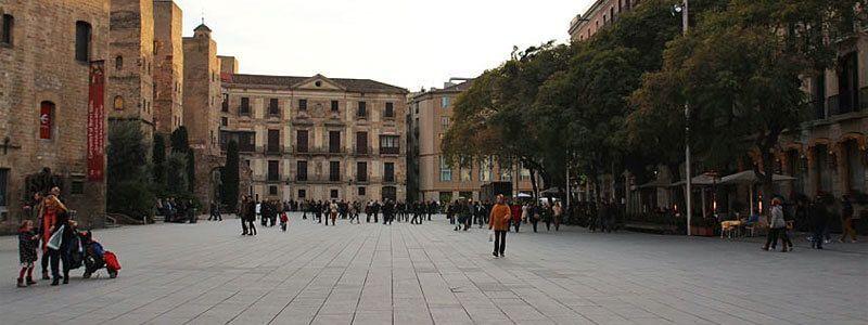places de Barcelone