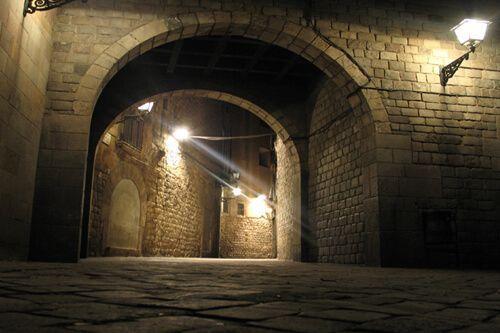 Visite nocturne Quartier Gothique