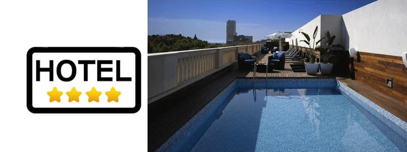 hôtels 4 étoiles Barcelone