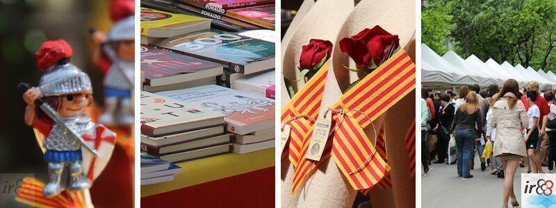 Jour de Sant Jordi à Barcelone