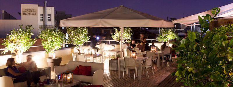 terrasse Setè Cel Hotel America