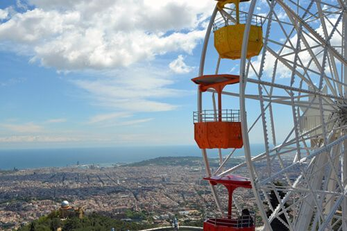 Parc attractions Tibidabo