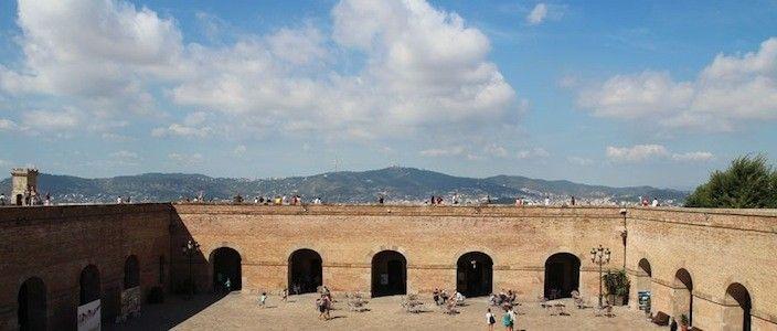 vues Château de Montjuïc