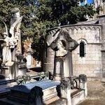 mausolées cimetière de Montjuïc