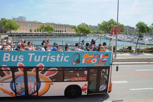 parcours bus touristique Barcelone