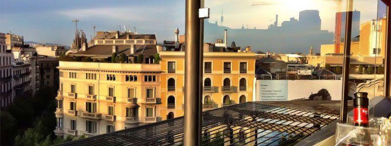 terrasses hôtel Barcelone
