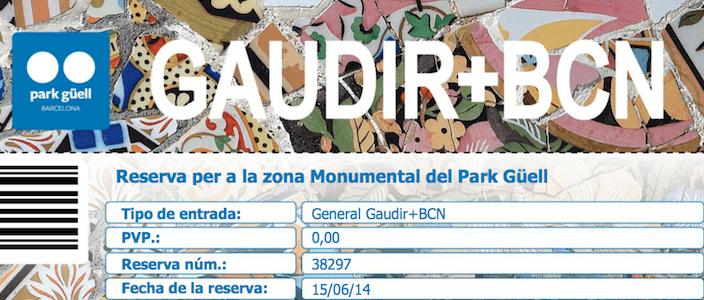 Gaudir Més BCN: comment visiter gratuitement la zone monumentale du Parc Güell