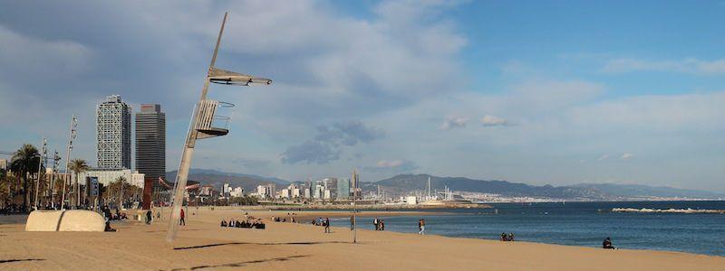 Promenade et Port Vell Barcelone