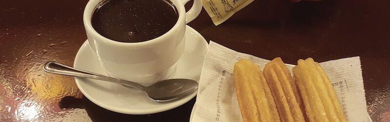 churros au chocolat