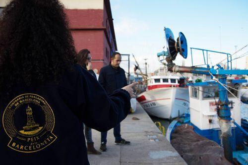 Fishermen brotherhood La Barceloneta