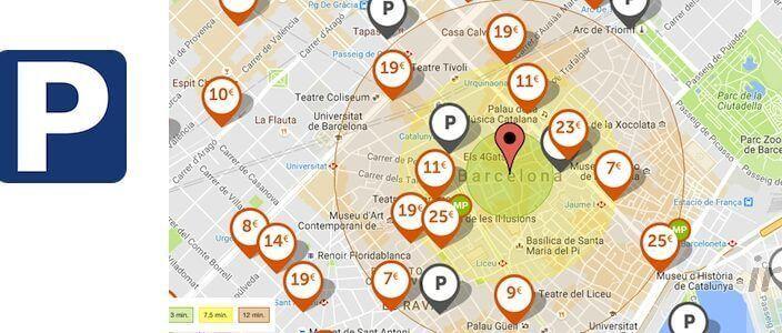 Parking pas cher à Barcelone: Où se garer