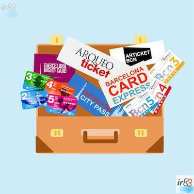 card turistiche Barcellona