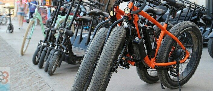 alquiler de bicis en Barcelona
