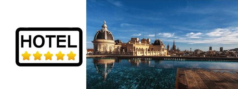hôtels 5 étoiles à Barcelone