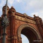 perspective Arc de Triomphe Barcelone