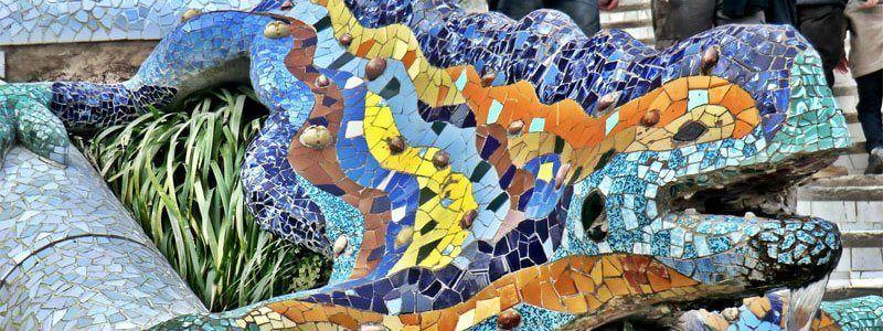 Salamandre Gaudí Parc Güell