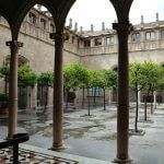 Pati dels Tarongers Palais Generalitat