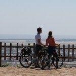 cyclistes dans le Mirador del Migdia