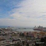vues port de Barcelone