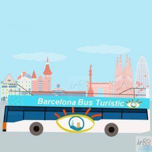acheter bus touristique BarceloneF