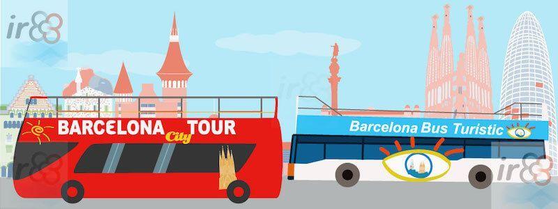 bus touristique Barcelone
