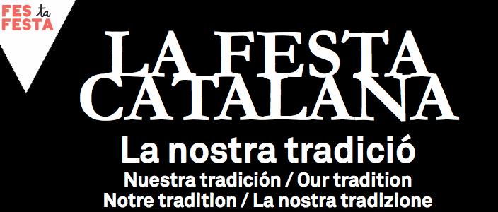 La Festa Catalana à Barcelone 2014