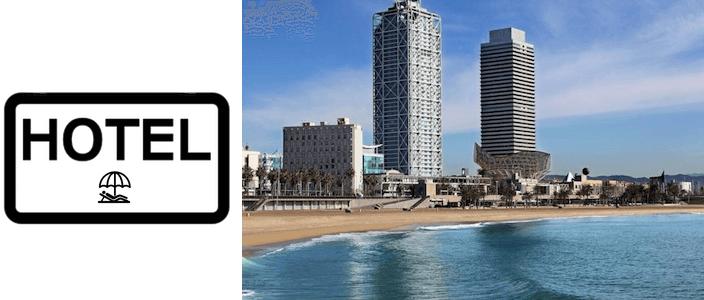 hôtels et appartements plage Barcelone