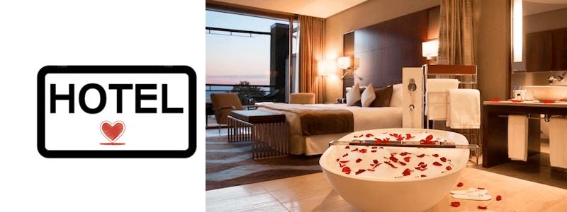 hôtel romantique Barcelone