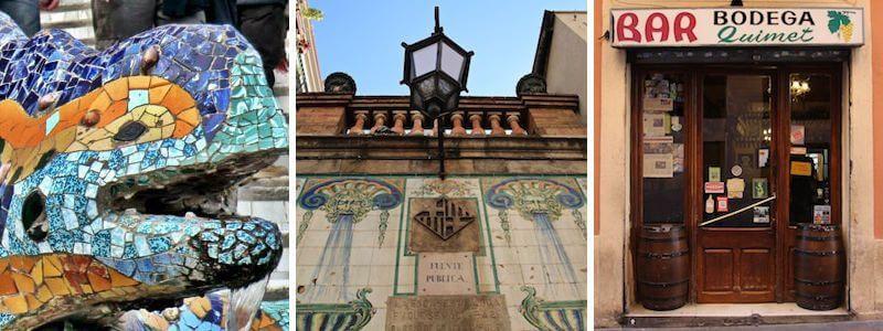 Quartier Gràcia Barcelone