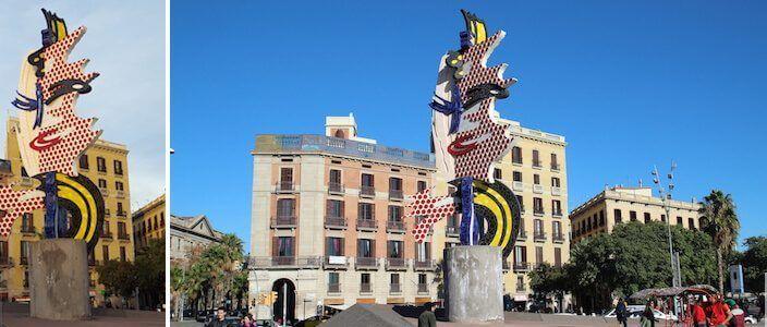 Tête (Visage) de Barcelone de Roy Lichtenstein