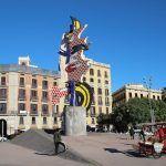 Tête (Visage) de Barcelone - Roy Lichtenstein