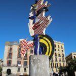 sculpture Tête (Visage) de Barcelone
