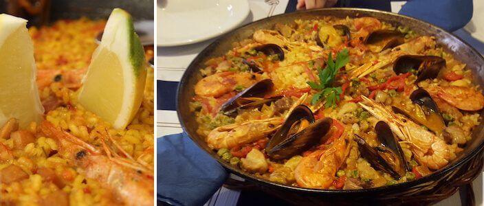 Paella Espagnole à Barcelone