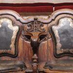détails sièges style Rococo Amphithéâtre Anatomique