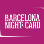 Barcelone Night Card