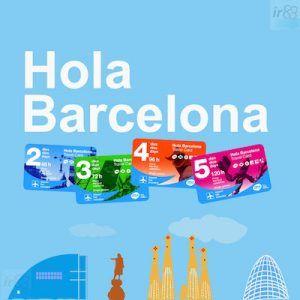 acheter en ligne Hola Barcelona 4 jours