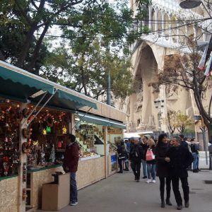 Marché de Noël de la Sagrada Familia
