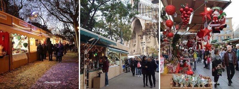 Marchés de Noël à Barcelone