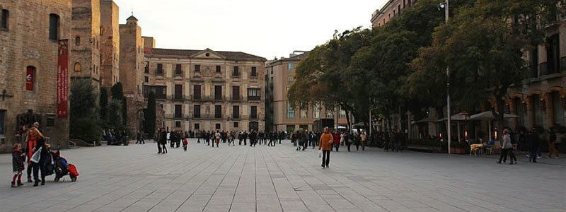 places de Barcelone