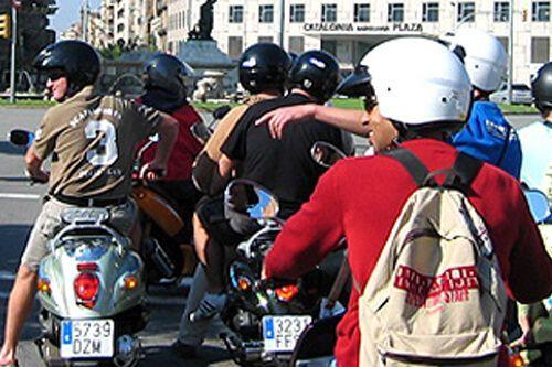 visite guidée scooter Barcelona