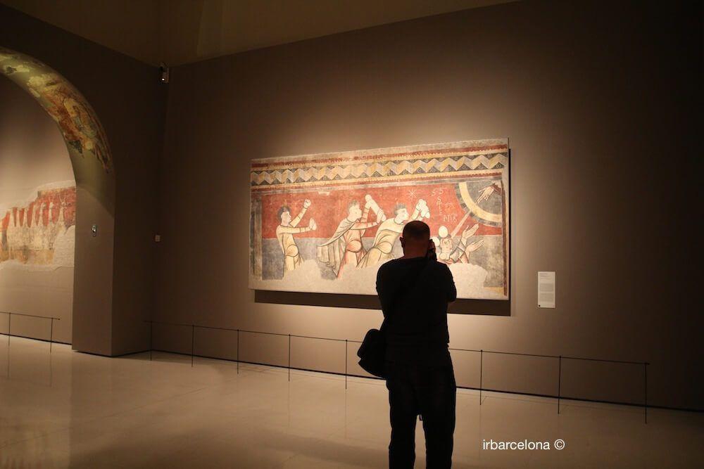 photographe dans la collection de l'art roman