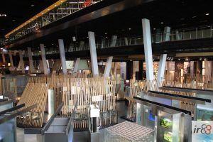 intérieur CosmoCaixa Barcelone