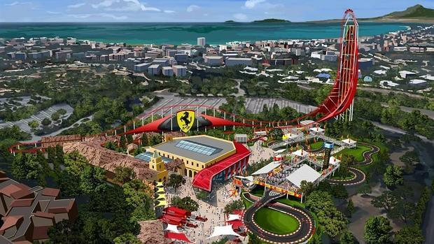 excursion PortAventura Park + Ferrari Land