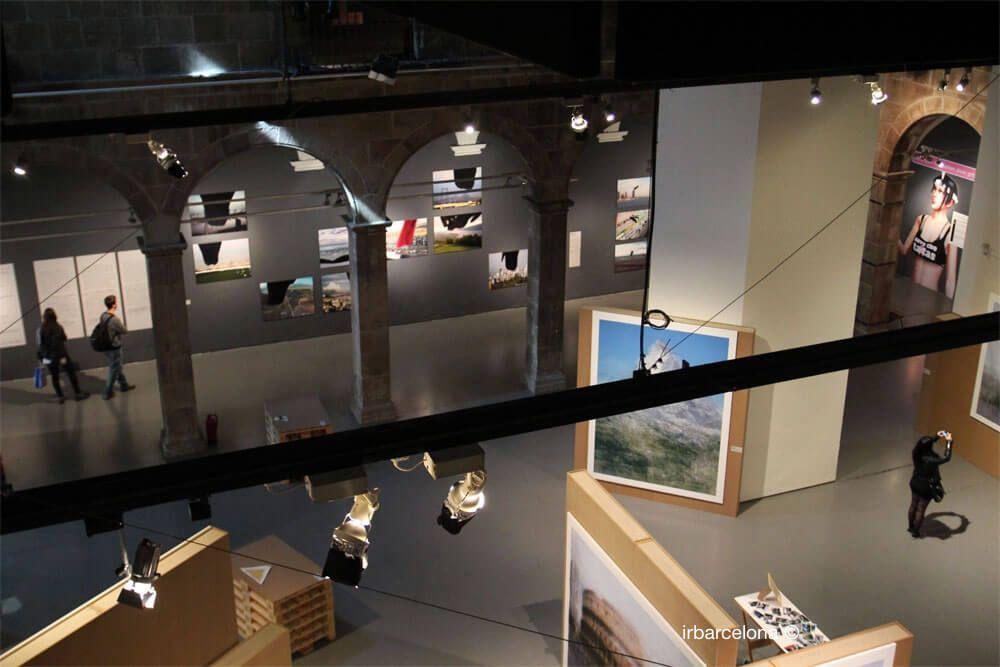 intérieur Centre Arts Santa Mònica