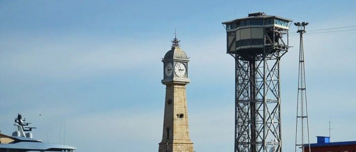 Tour Horloge Barceloneta