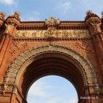 passeig Lluís Companys et Arc de Triomphe