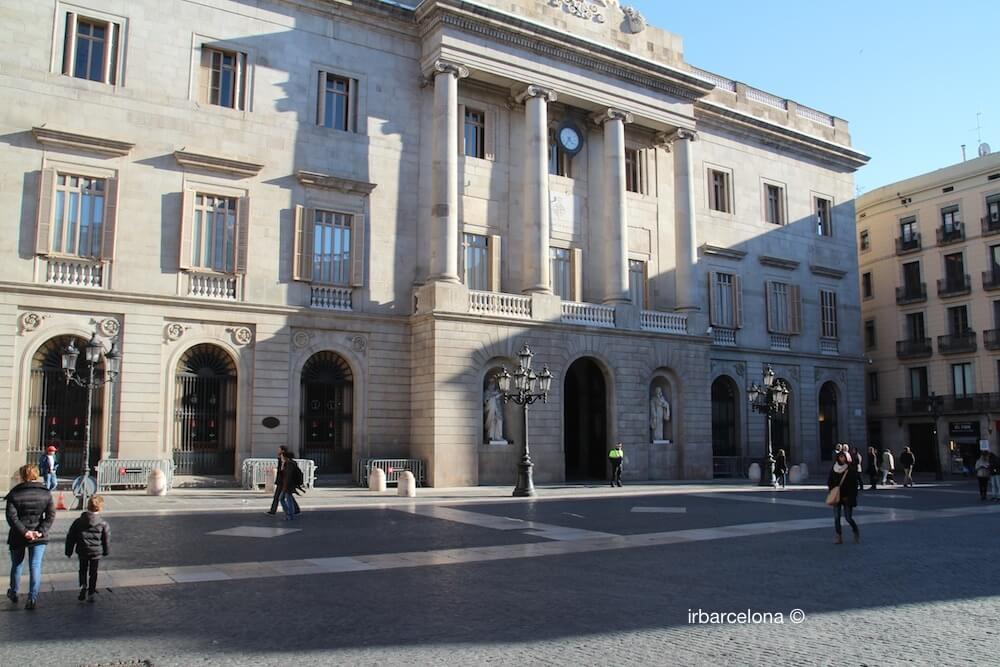 Hôtel de ville Barcelone