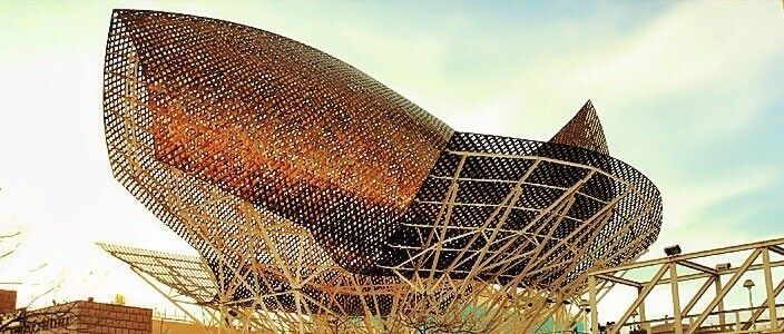 Poisson Doré Frank Gehry