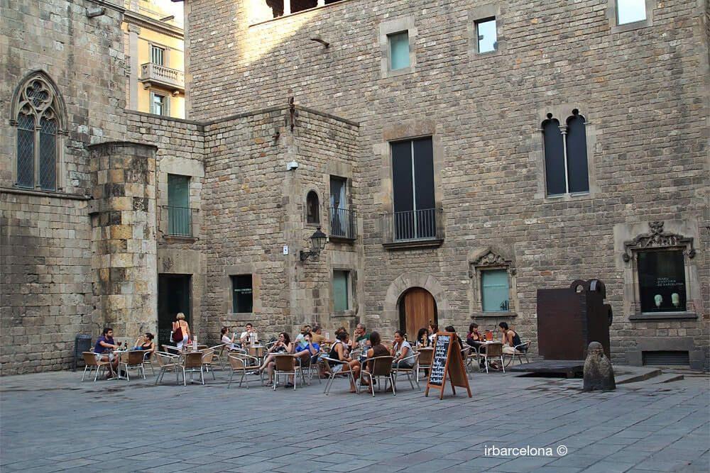 terrasse Plaça del Rei